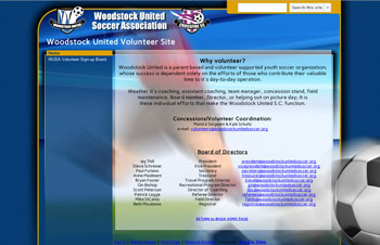 WUSA Volunteer Site